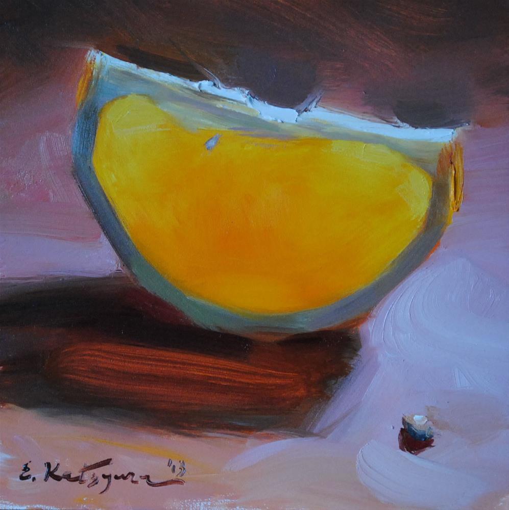 """Pierced by Sun"" original fine art by Elena Katsyura"