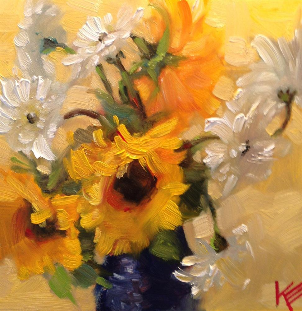 """Bright Thoughts"" original fine art by Krista Eaton"