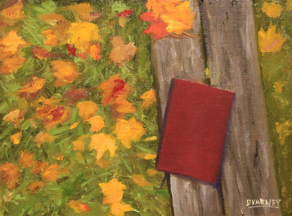 """The Diary"" original fine art by Daniel Varney"