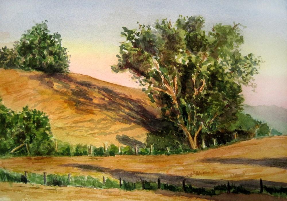 Sunny Meadows original fine art by Ulrike Miesen-Schuermann