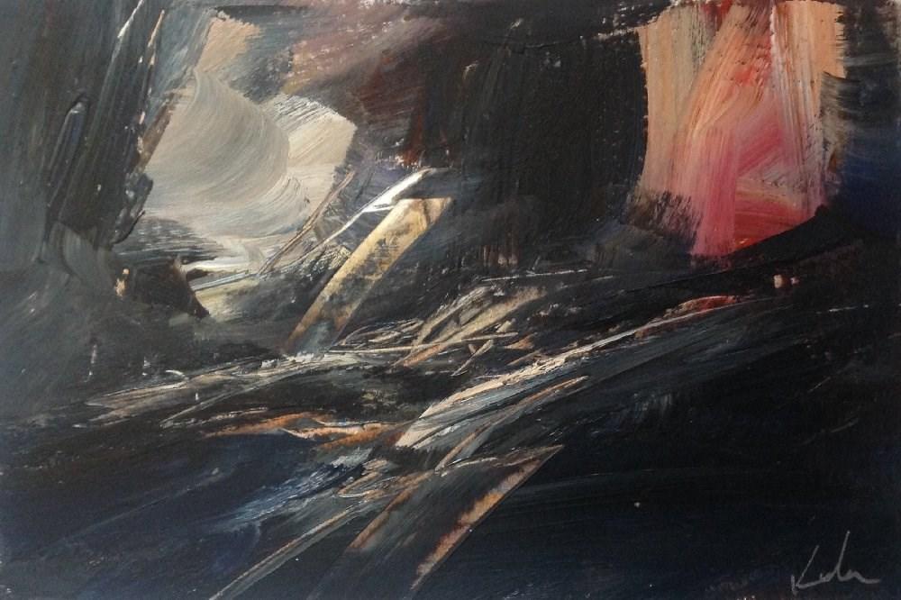 """Bearing Witness"" original fine art by David Kuhn"