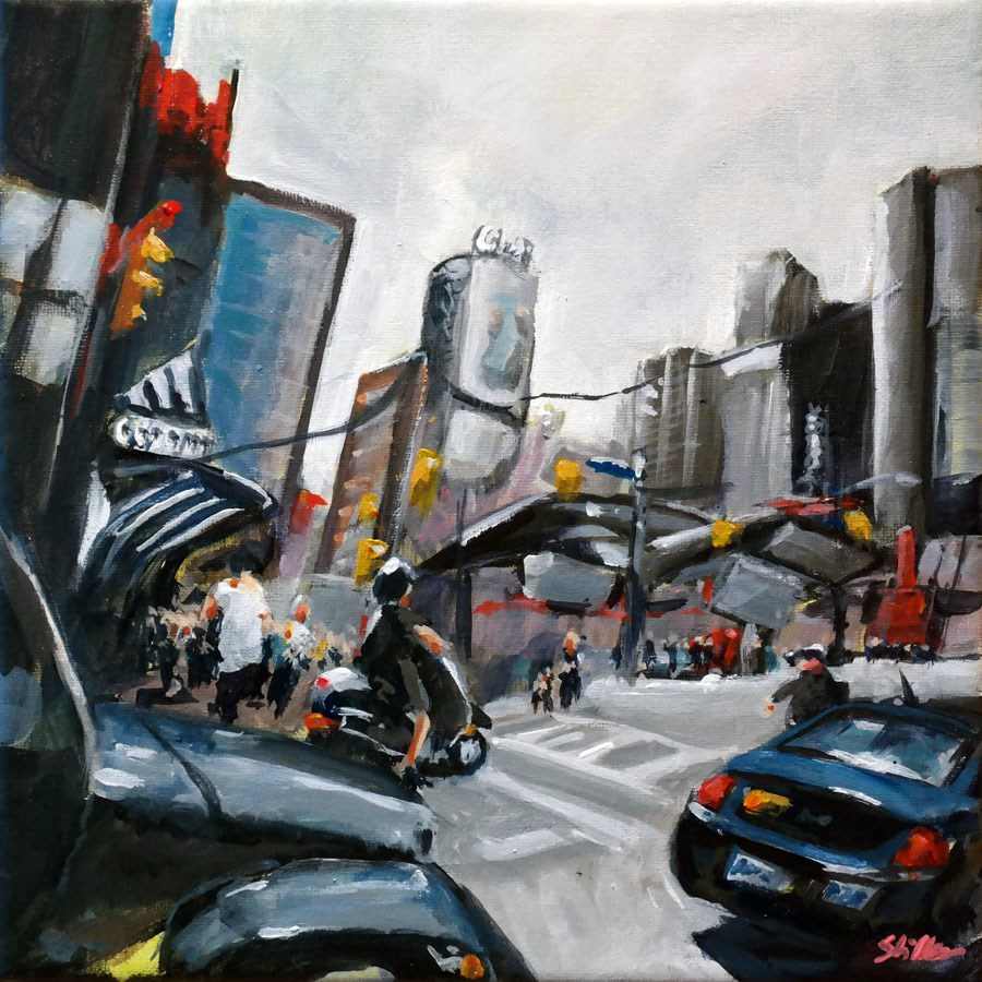 """1428 Yonge"" original fine art by Dietmar Stiller"