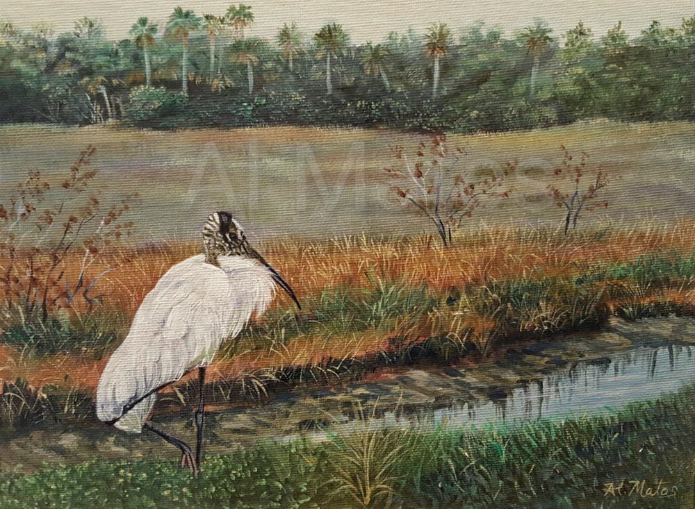 """""""The Shy Pose"""" original fine art by Al Matos"""