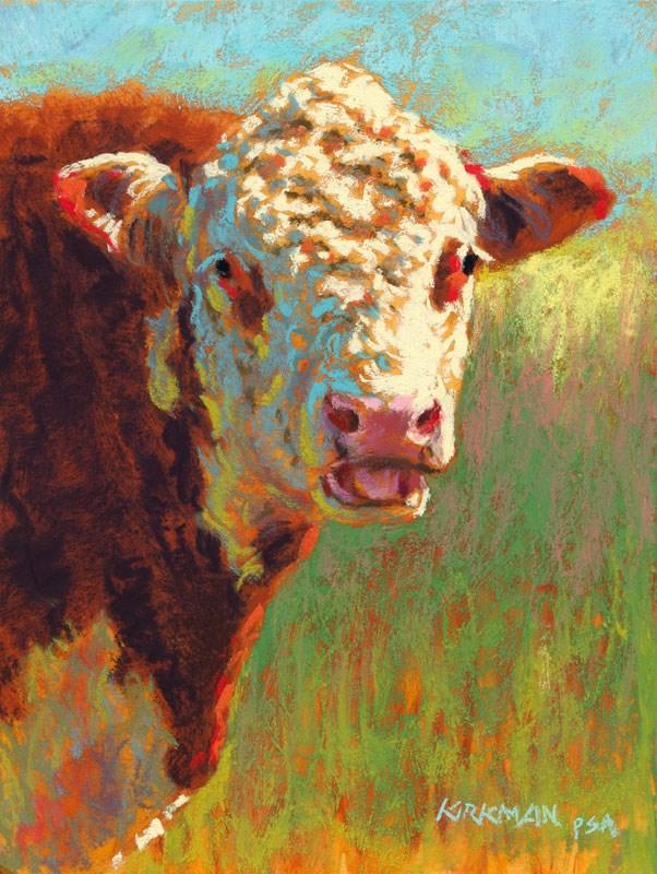 """""""Brewski"""" original fine art by Rita Kirkman"""