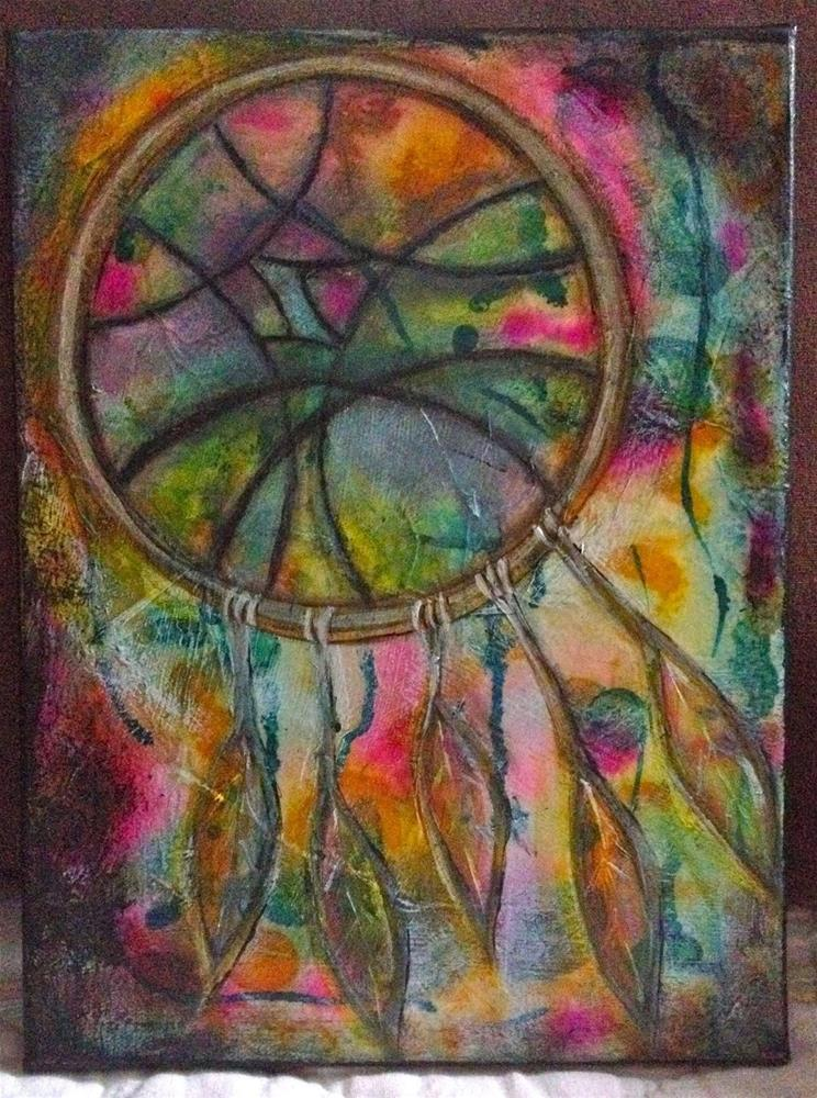 """Dream Catcher"" original fine art by Kali Parsons"