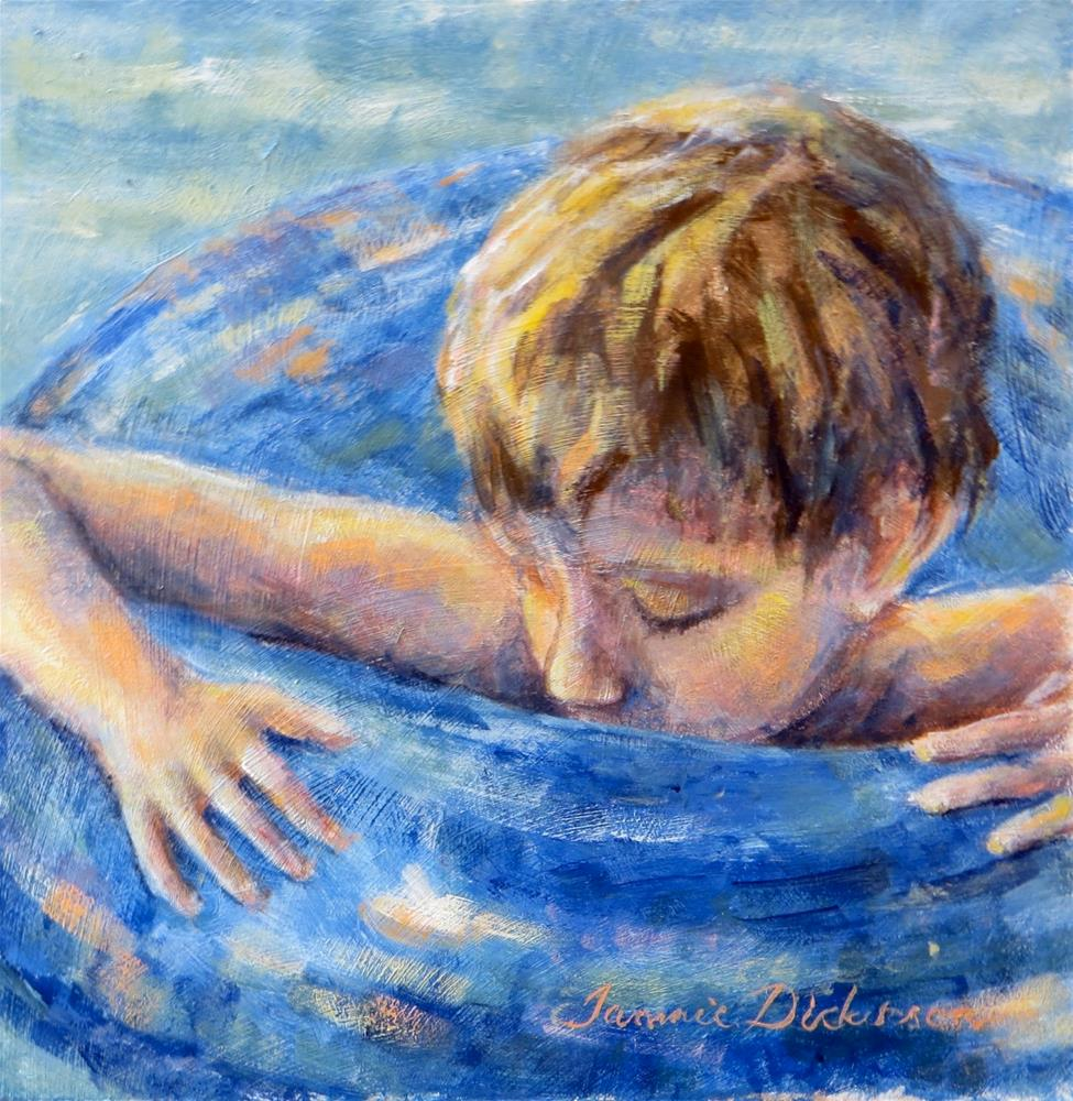 """Summer Dreaming"" original fine art by Tammie Dickerson"