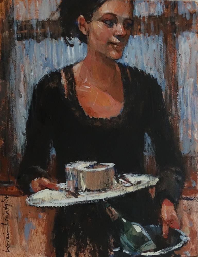 """Hands Full"" original fine art by Lorraine Lewitzka"