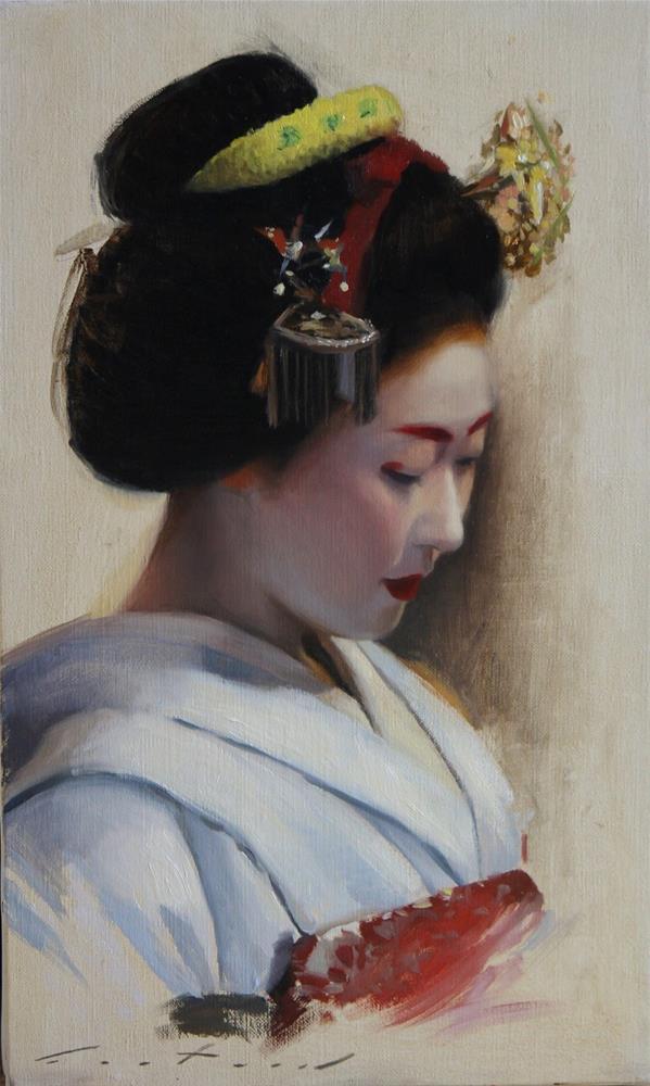 """Katsunosuke"" original fine art by Phil Couture"