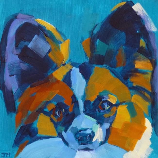 """Pet Portrait"" original fine art by Jessica Miller"