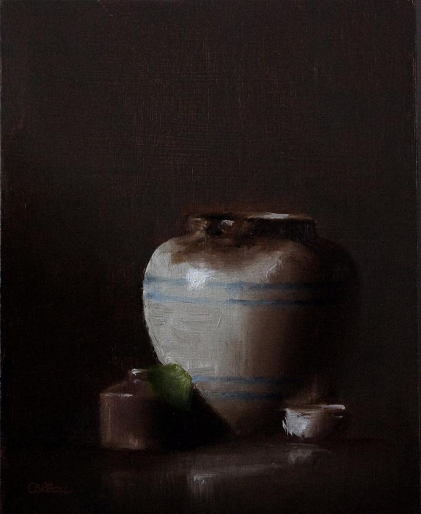 """Aged Pot"" original fine art by Neil Carroll"