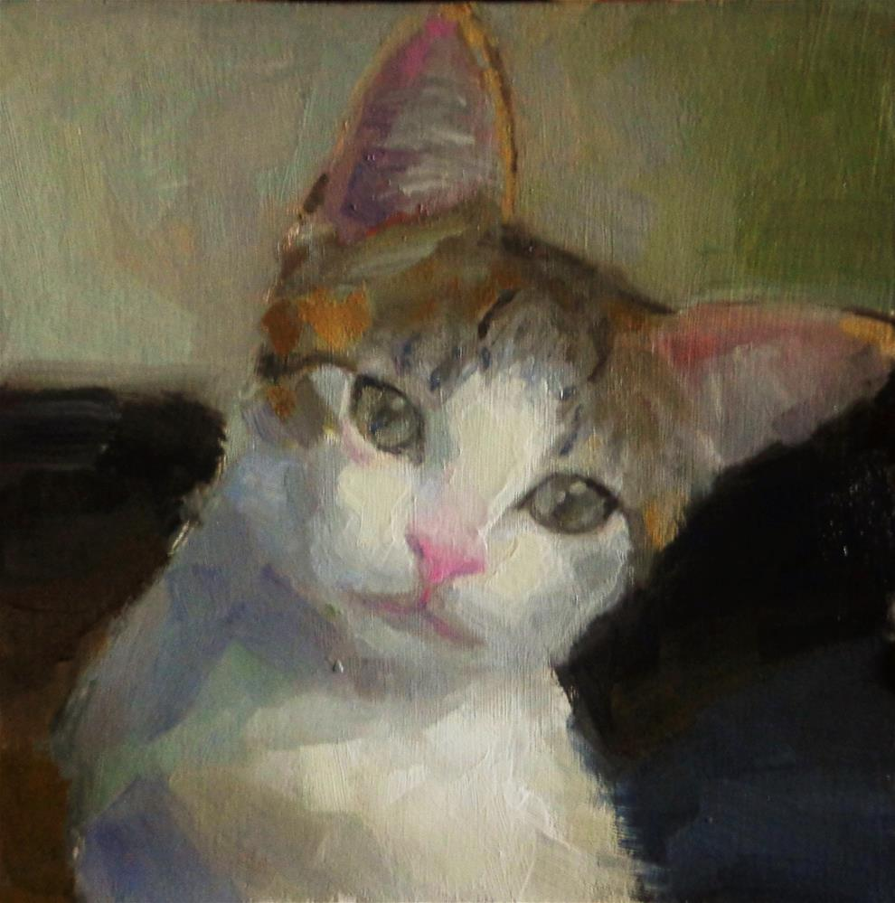 """Gentle creature"" original fine art by Maria Z."