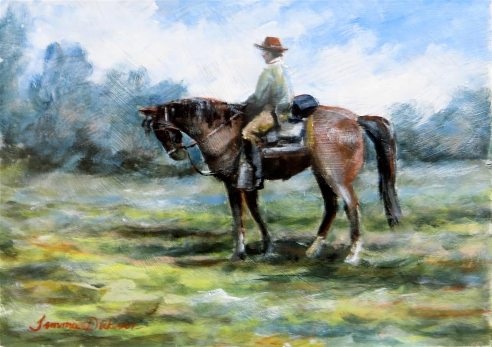 """Going Home"" original fine art by Tammie Dickerson"
