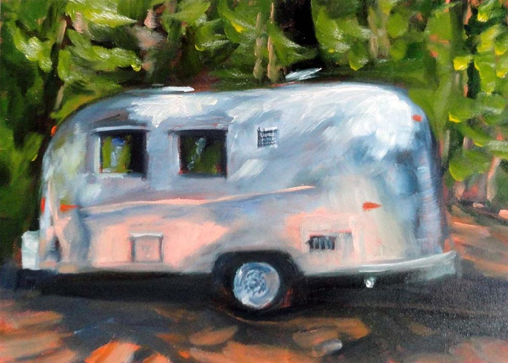 """Happy Camper"" original fine art by Cietha Wilson"