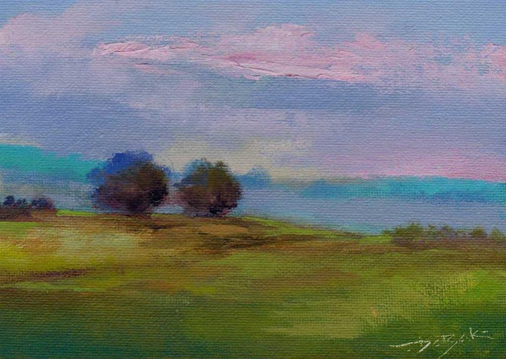 """morning"" original fine art by Vova DeBak"