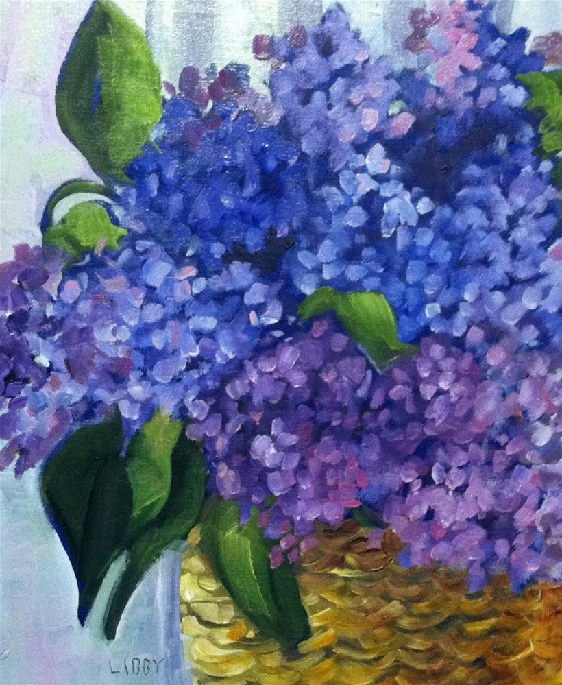 """Lilac Love"" original fine art by Libby Anderson"