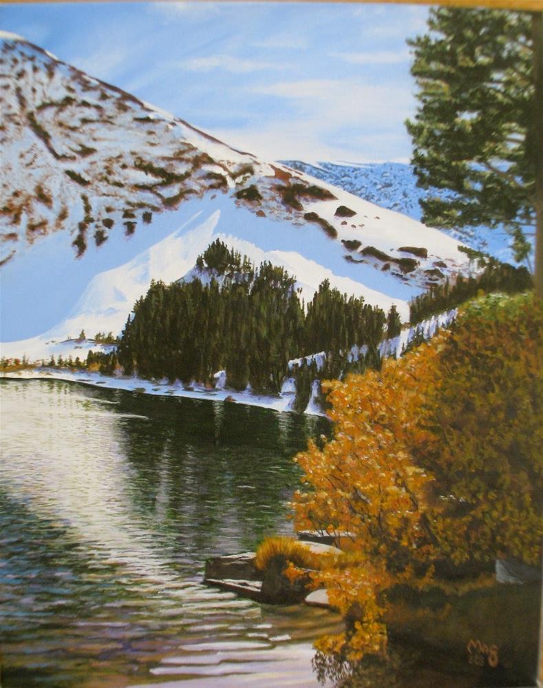 """Virginia Lakes"" original fine art by John F McGowan"