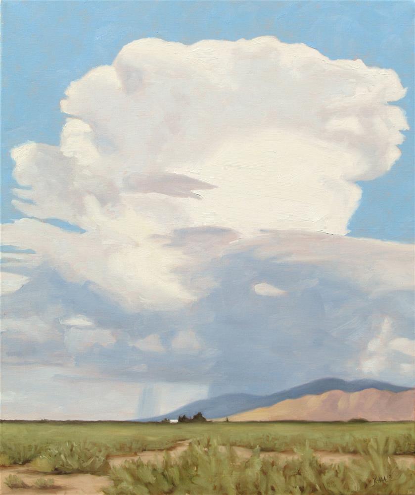 """Thunderhead"" original fine art by Kaia Thomas"