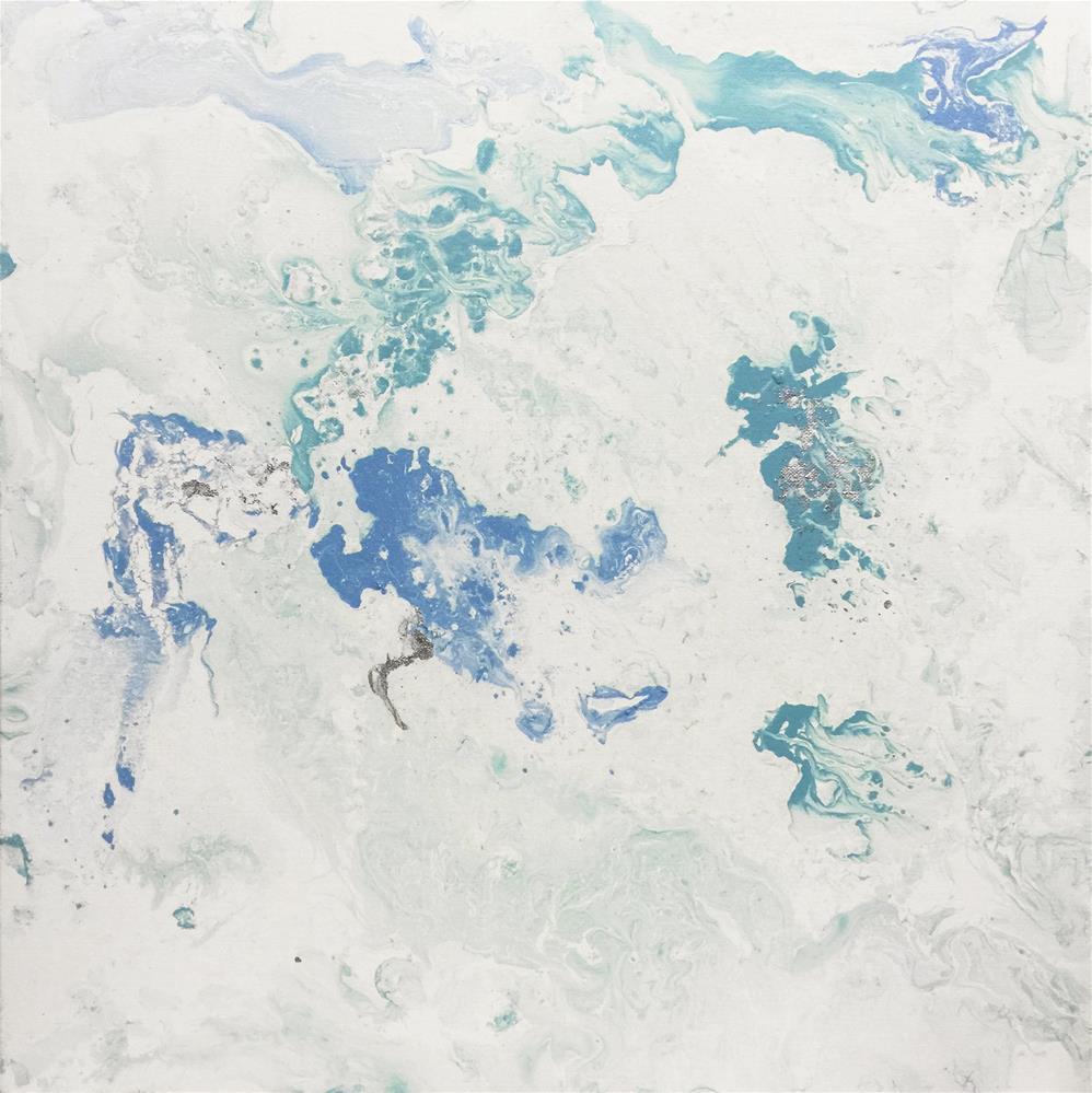 """Abstract #222"" original fine art by Sunny Avocado"