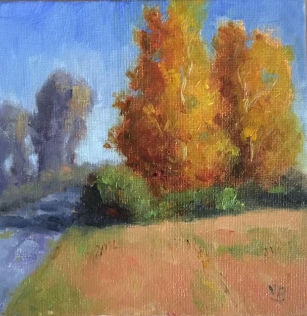 """Autumn's Offering"" original fine art by Victoria  Biedron"