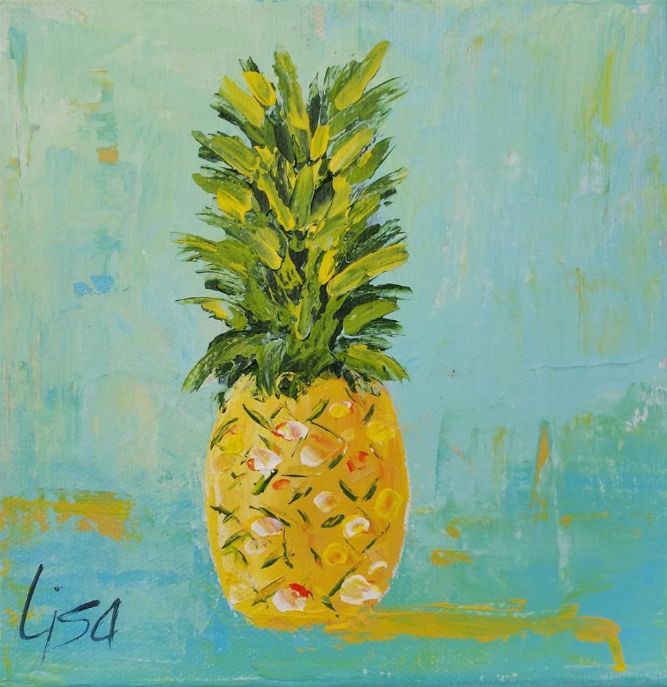 """109 - Sunday on SSI"" original fine art by Lisa Rogers"
