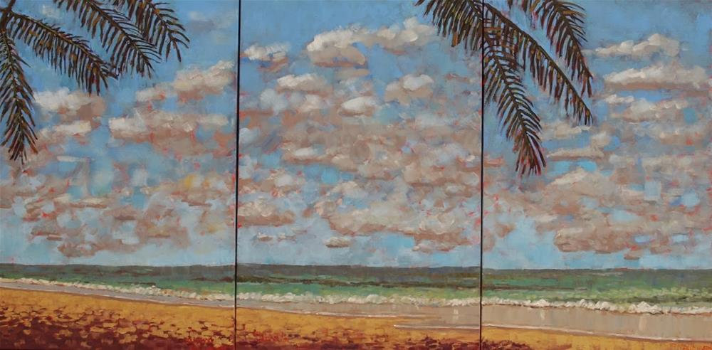 """Triptych"" original fine art by Rick Nilson"