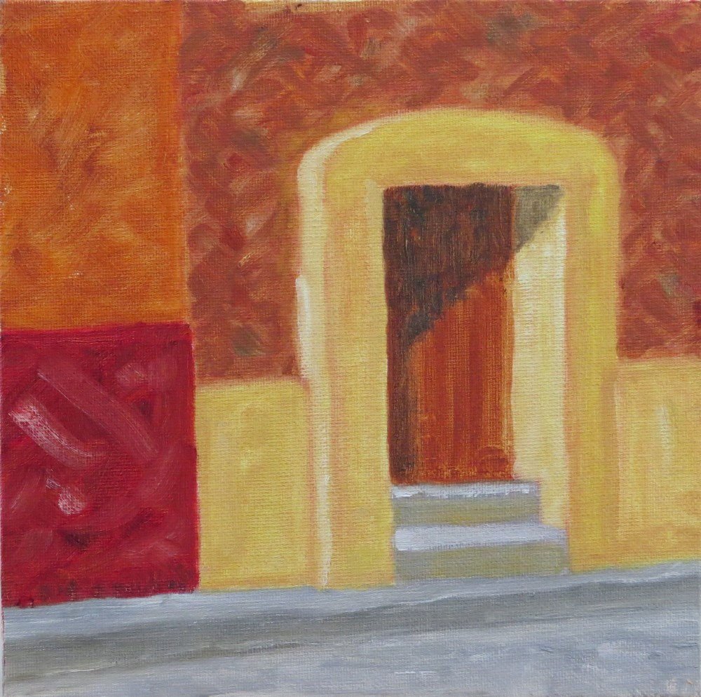 """Puerta"" original fine art by Richard Kiehn"