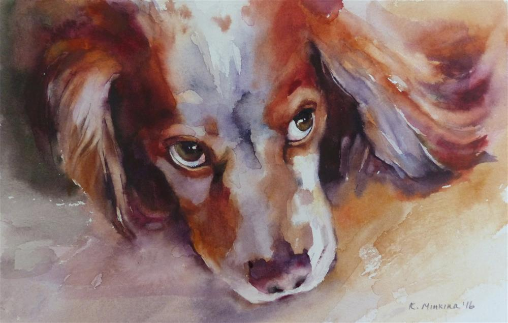 """adopt190 - Buzz"" original fine art by Katya Minkina"