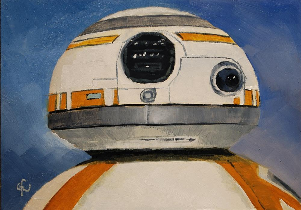 """Droid"" original fine art by Gary Westlake"
