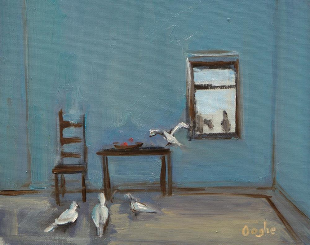 """Open Window"" original fine art by Angela Ooghe"