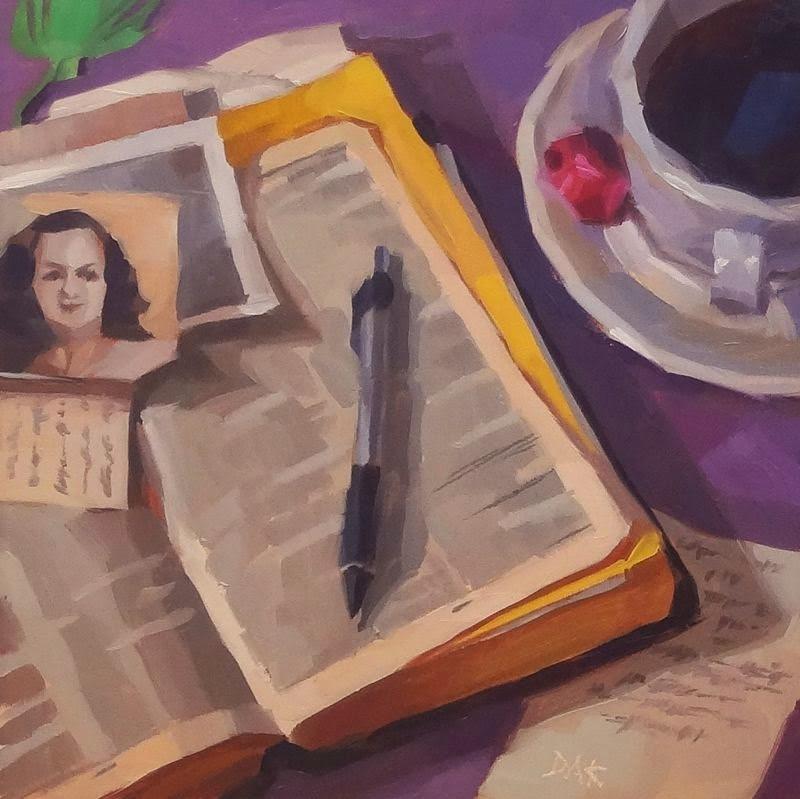 """The Lord Is My Shepherd"" original fine art by Deborah Ann Kirkeeide"