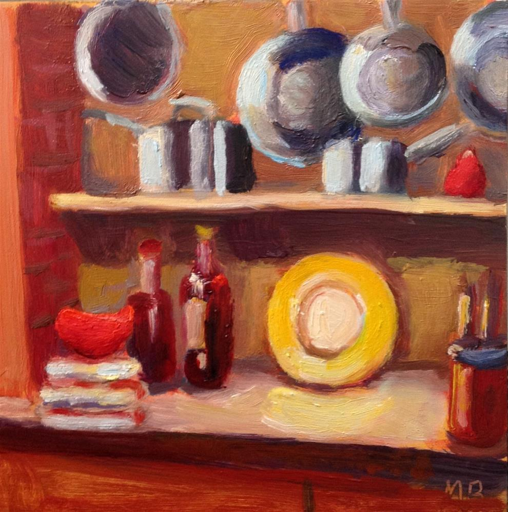 """Cook's Tools"" original fine art by Marcia Bergtholdt"