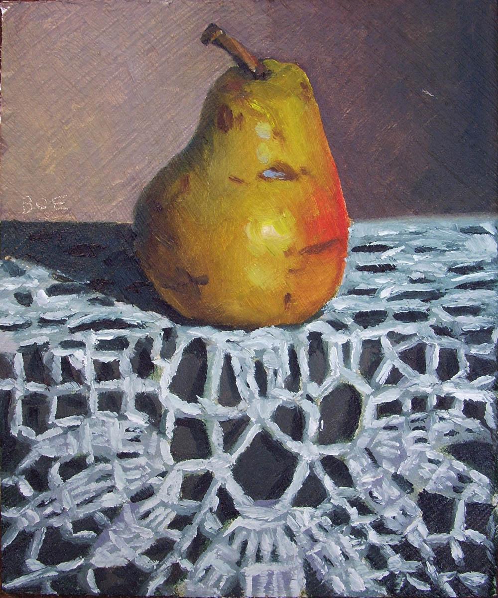 """Old Gold"" original fine art by Karen Boe"