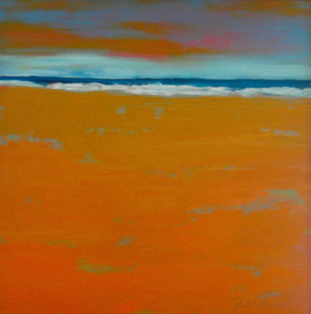 """Tangerine Dream - Framed"" original fine art by Janet Bludau"
