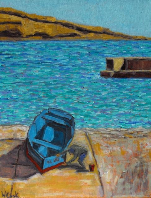 """Croatia #3"" original fine art by William Cook"