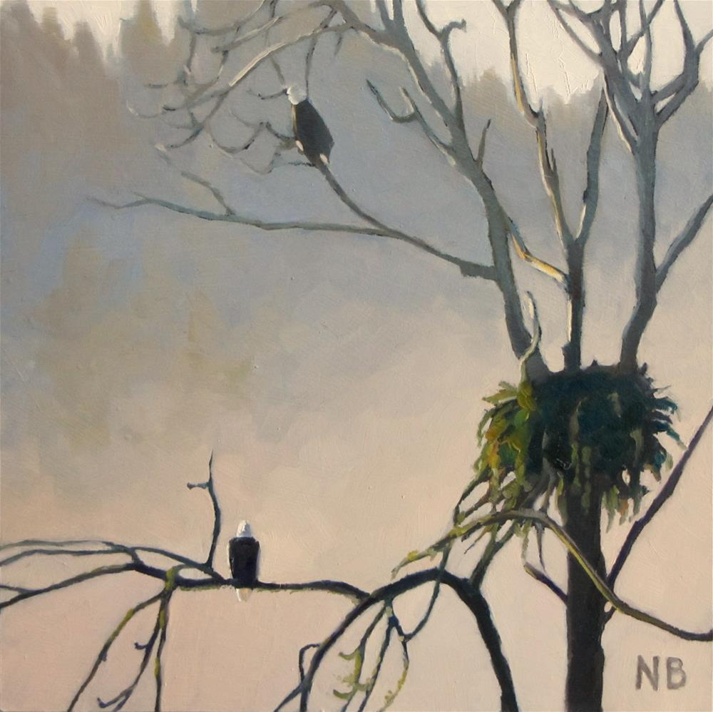 """Morning Watch"" original fine art by Nora Bergman"