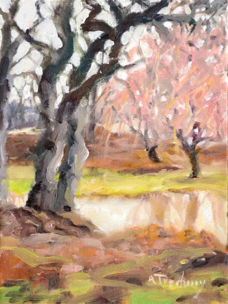 """Springtime"" original fine art by alicia tredway"