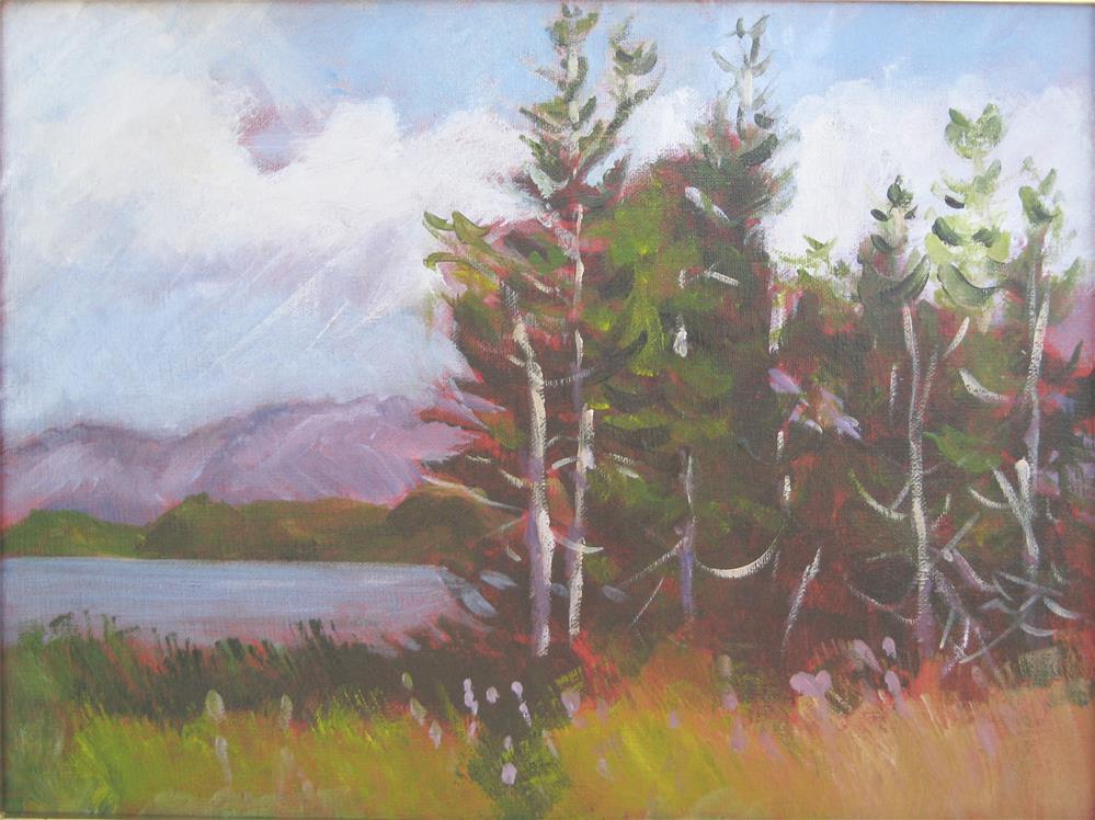 """Alaska Mood"" original fine art by Carol Cochran"