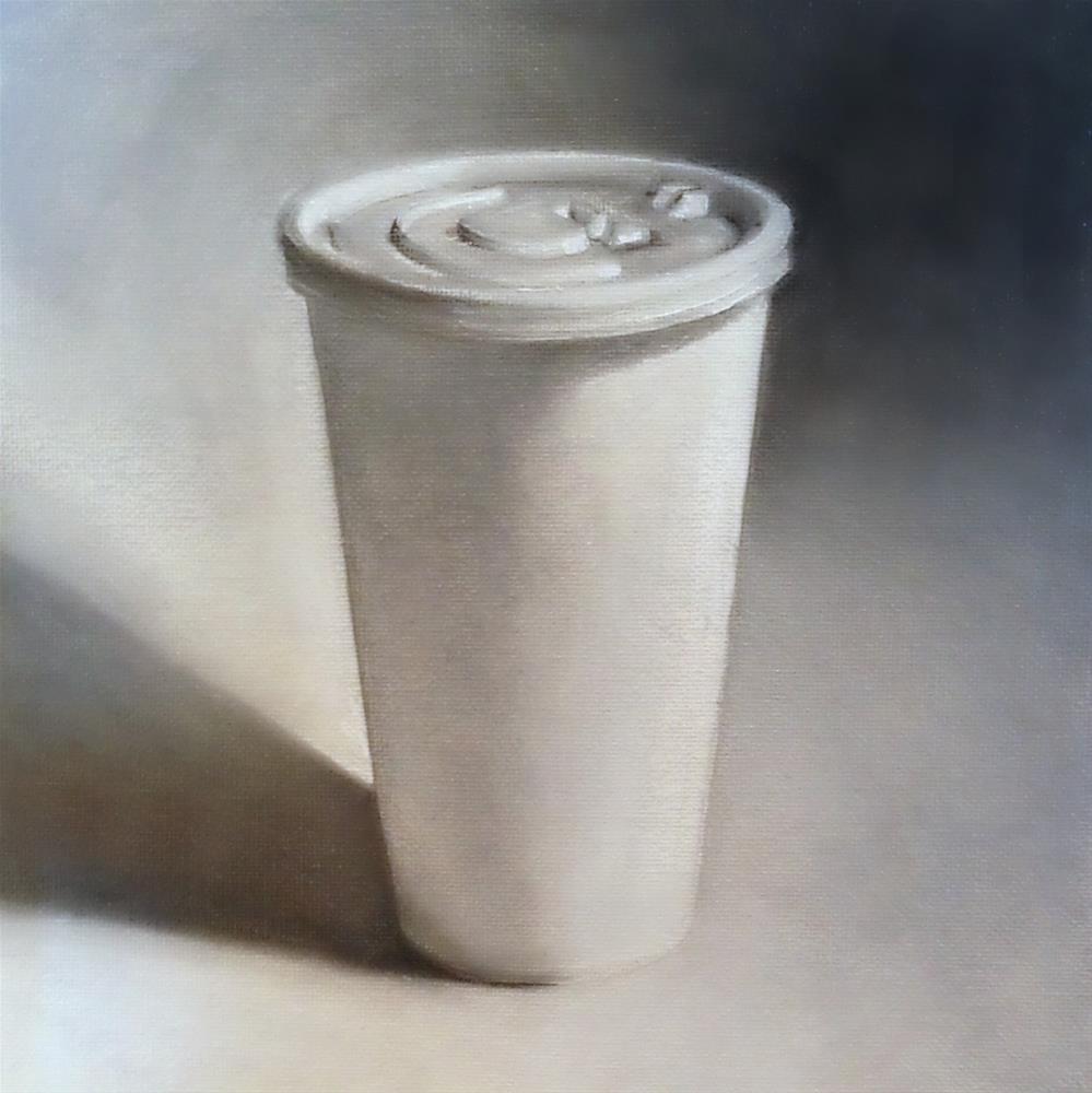 """About the Joe #7"" original fine art by Beth Moreau"