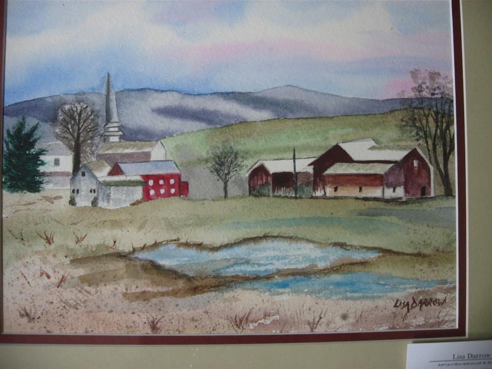 """UNITYVILLE"" original fine art by Lisa Darrow"