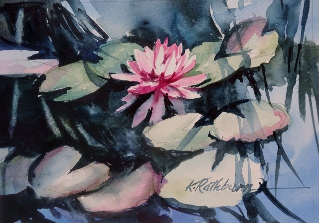 """Kathy's Monet"" original fine art by Kathy Los-Rathburn"