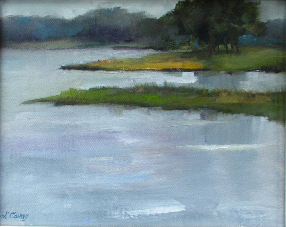 """Still Waters"" original fine art by Linda Carney"