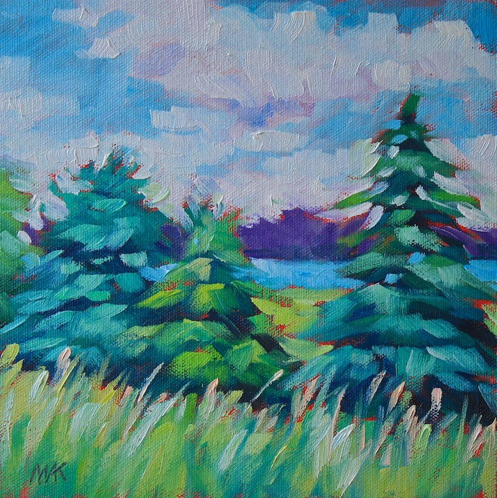 """Gilsland Audubon View"" original fine art by Mary Anne Cary"