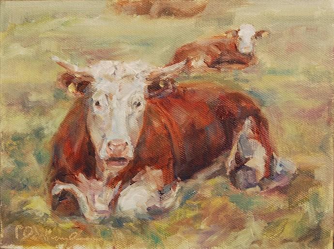 """Alone Time"" original fine art by Carol DeMumbrum"