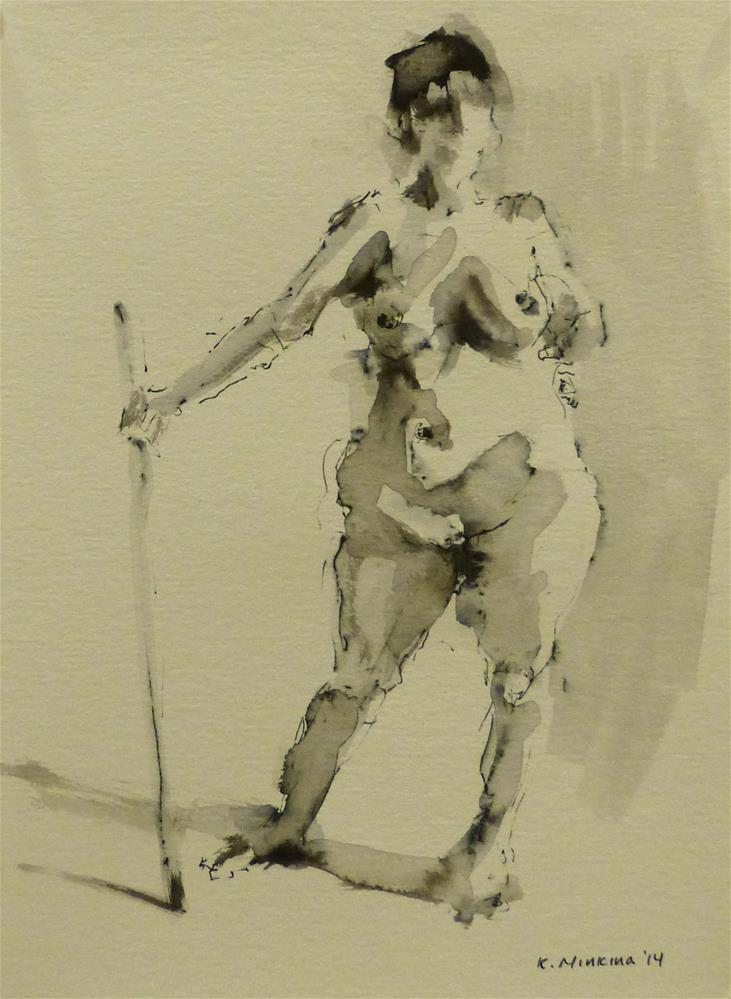 """nude8"" original fine art by Katya Minkina"