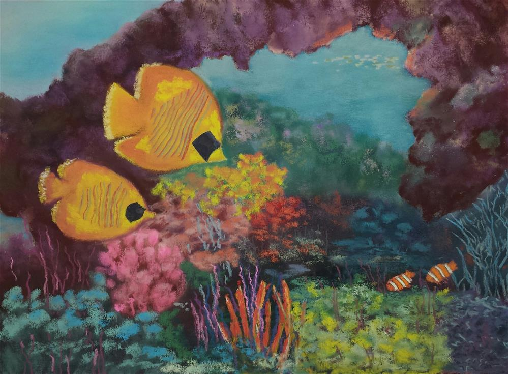 """Under The Sea"" original fine art by Donna Donnon"
