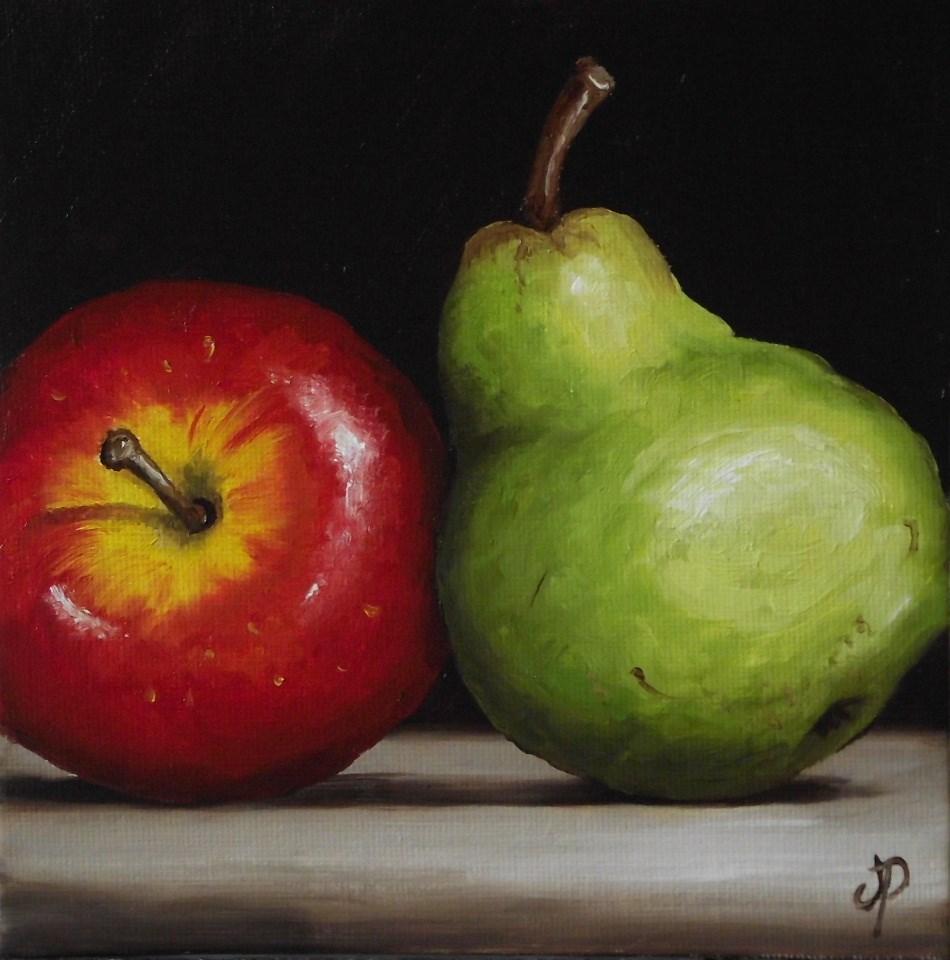 """Braeburn And Williams"" original fine art by Jane Palmer"