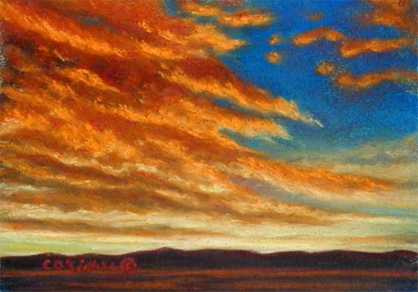 """""""In For A Landing"""" original fine art by Carol Zirkle"""