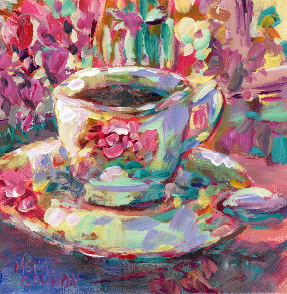 """Springtime Morning"" original fine art by Melissa Gannon"
