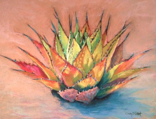 """Desert Color"" original fine art by Cindy Gillett"