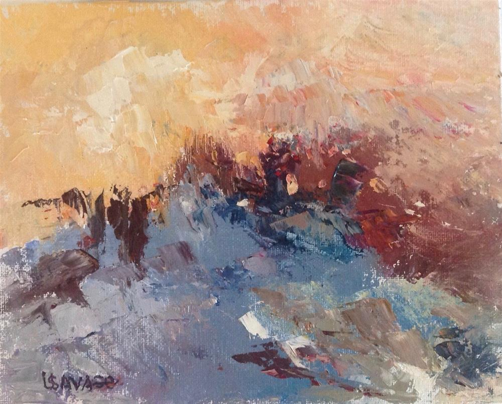 """Dune Rising"" original fine art by Judy Usavage"